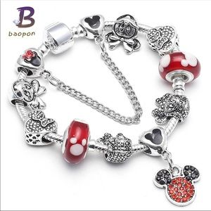 Jewelry - Brand New Minnie Mouse Charm Bracelet